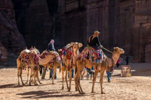 jordániai utazás